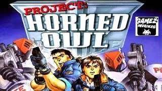 Project Horned Owl! Arcade Light Gun Manga Mech Shooter! PS1 Guncon Game