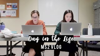 Day in the Life of a Med Student Repro  MS2 Vlog