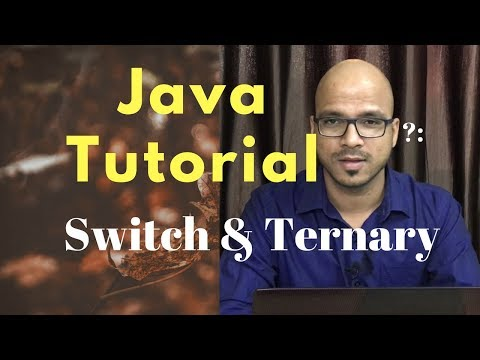 #3.2 Java Tutorial | Ternary And Switch | Selection Statement