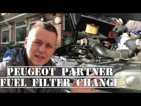 Peugeot Partner Fuel Filter Change, To Stop hesitation jerking, Air Ingress  Fuel Starvation, 206 307