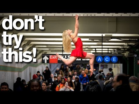 DAREDEVIL BALLERINA Takes 10 Minute Photo Challenge- Don't Try This!