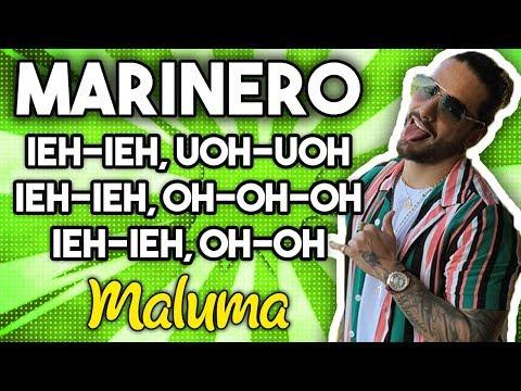 Maluma - Marinero (Letra)