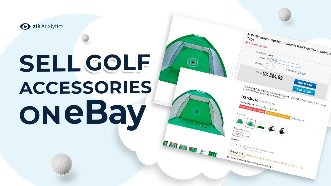 Selling Golf Accessories On Ebay What Is The Best Thing To Sell On Ebay For Profit To Golfers Youtube
