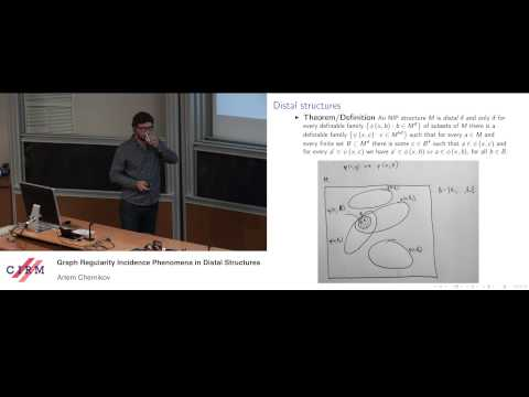 Artem Chernikov: Graph regularity and incidence phenomena in distal structures