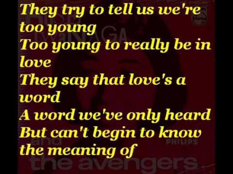 Rose Iwanaga & The Avengers - Too Young (with lyrics)