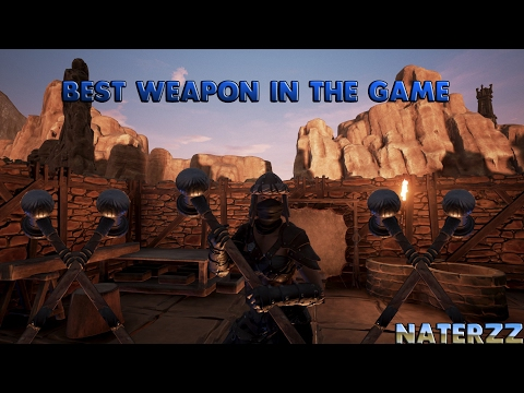 Conan Exiles - Best weapon in the game |