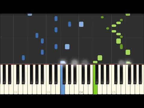 G Minor Bach - Luo Ni [Piano Tutorial] (Synthesia)