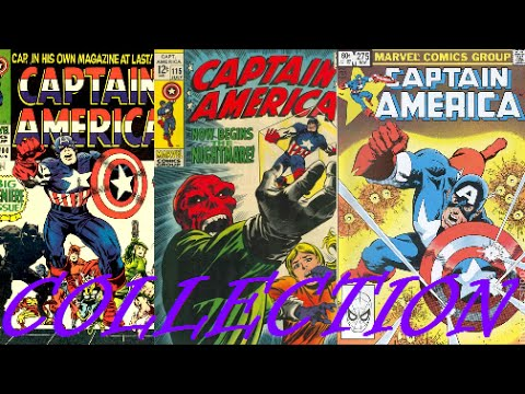 Comic Cover Collection: Captain America (1968 1st Series) Issues #100-454 / Marvel Comics