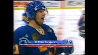 Peter Forsberg vs Finland world cup 1996