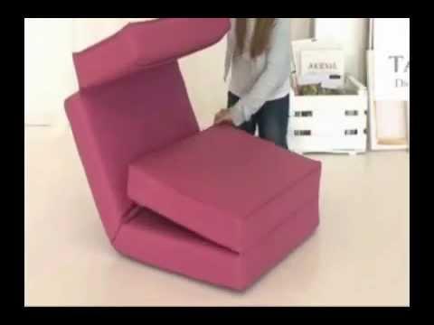 Muebles y sillones cama - YouTube