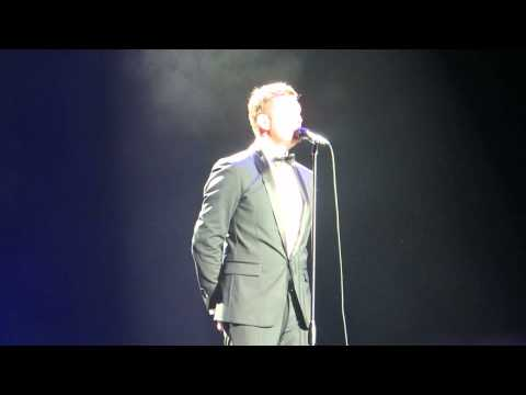 Michael Buble live in dublin o2 2013 try a little tenderness