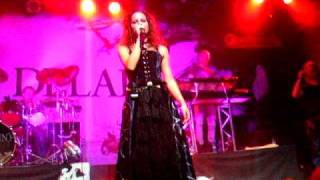 Delain - Frozen (singing Telya from Whyzdom) @ Barcelona - 4/10/09