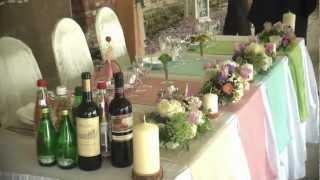 Свадьба в деревенском стиле ресторане Старая Башня