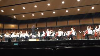 Sonata Vivant North Rockford Middle School Michigan band and orchestra festival winners 7th grade