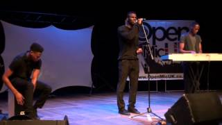 WORDS - ANTHONY DAVID performed by VINTAGE SOUL at Open Mic UK singing competition