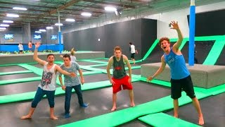AWESOME TRAMPOLINE TRICKS!!