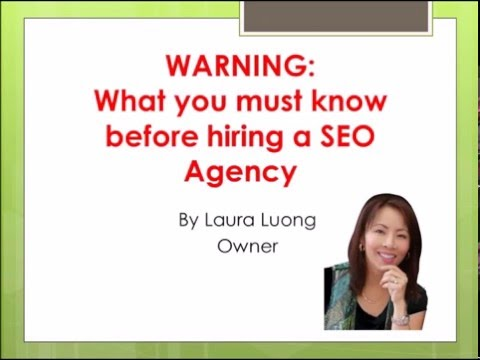 SEO Expert San Jose: Must Know Before Hiring A SEO Agency|(408) 256-3273