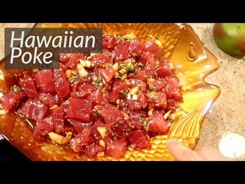 Deeelicious Hawaiian Poke Recipe (Aloha from Maui!)