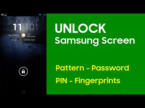 Remove Forgotten Screen Lock from Samsung Galaxy without Data Loss