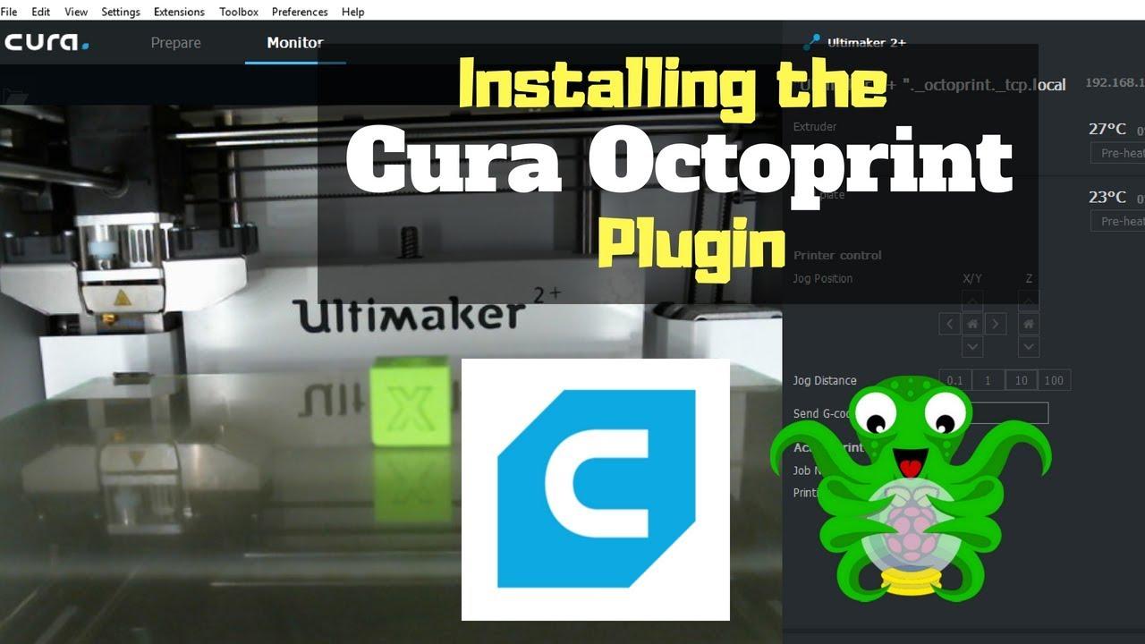 Installing the Cura Octoprint Plugin Tutorial