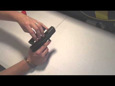 FAST Holster: Magnetic gun holster that mounts almost anywhere!