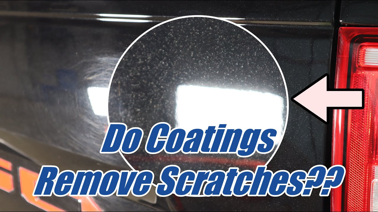 Does a ceramic coating remove scratches? Simple, fast answers.