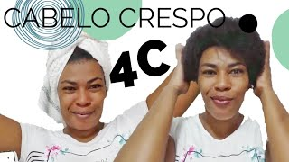 Download lagu Cabelo crespo natural 4b/4c - Finalizando com creme de pentear Super Babosão da Novex Embelleze