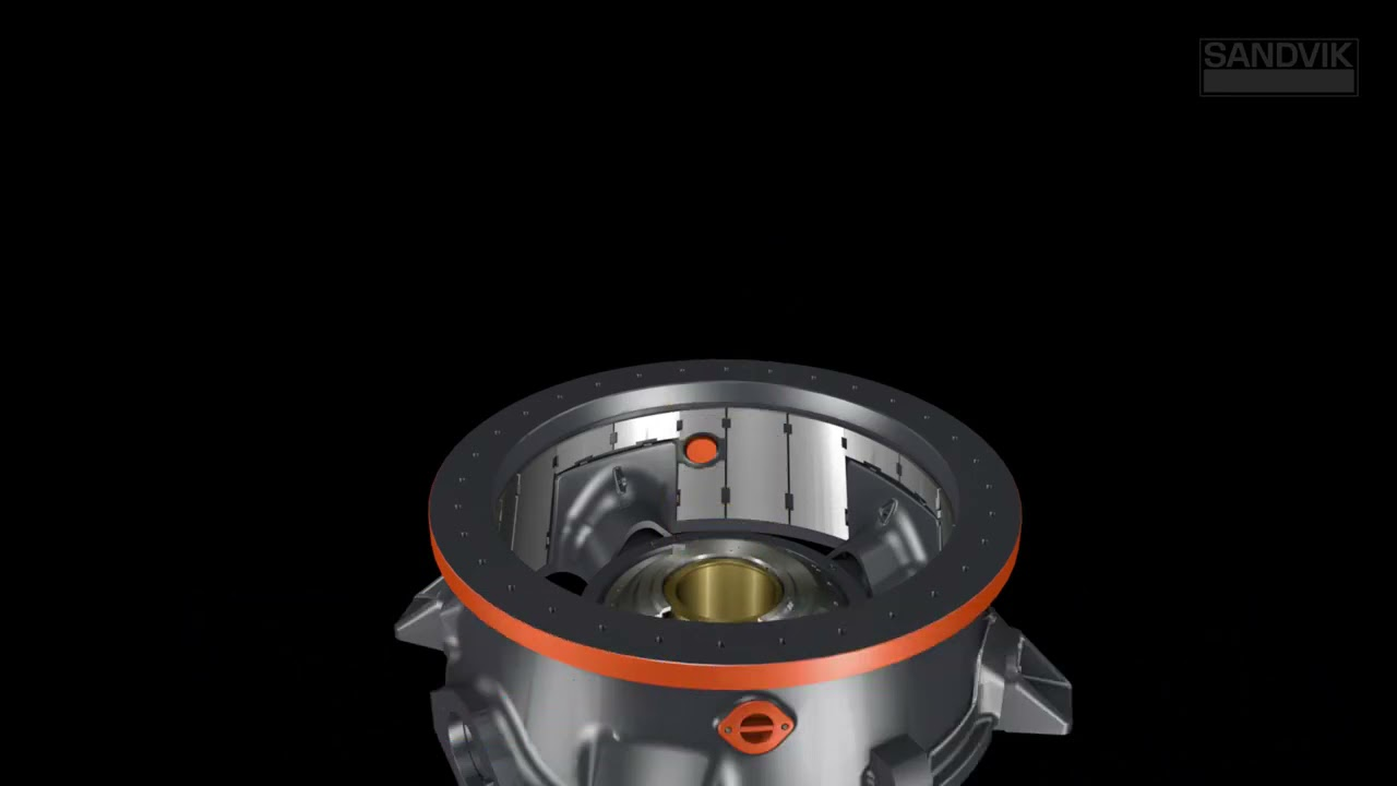 Adjusting Capacity   The Eccentric Is The Key | Sandvik Rock Processing Solutions