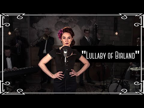 """Lullaby of Birdland"" (Ella Fitzgerald) Jazz Standard Cover by Robyn Adele Anderson"