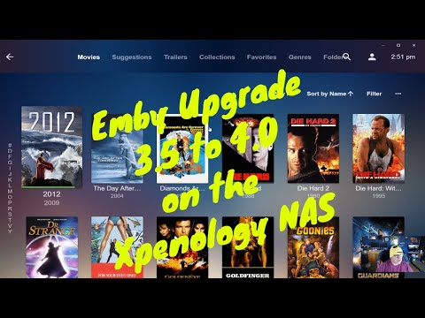 Emby 3.5 to 4.0 upgrade on Xpenology NAS