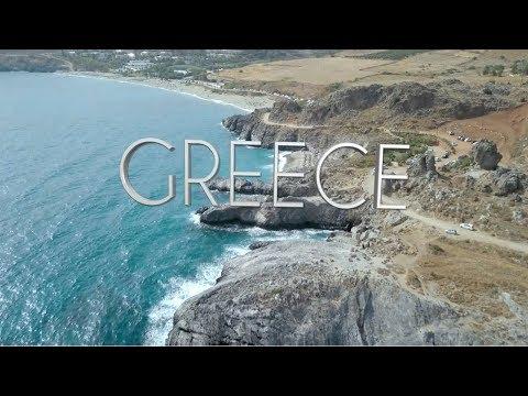 Greece Vacation - DJI Mavic Pro Drone - Crete - Rethymno - Athens - Paros - Santorini
