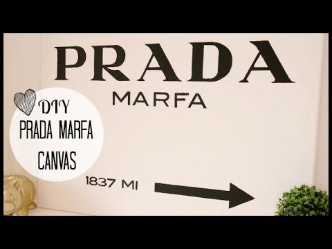 Download DIY Prada Marfa Canvas | Lifestyle Spot