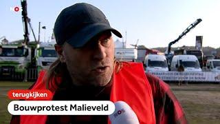 TERUGKIJKEN: Bouwers verzamelen zich voor protest op Malieveld