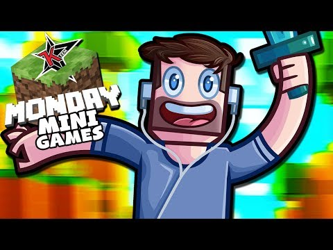 WE ACTUALLY WON EVENTS! - Minecraft Monday Mini Games Week 4
