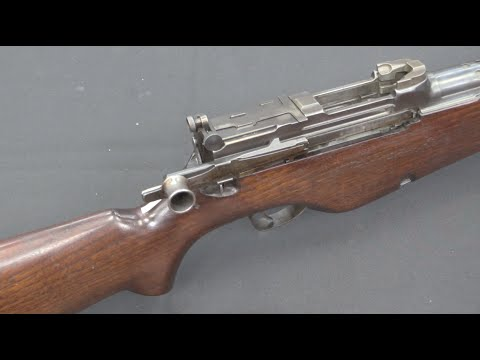 White Prototype Gas Operated .276 Rifle