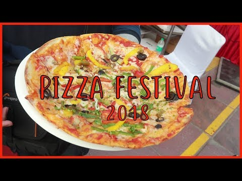 When the FOOD is Awesome | Pizza Festival 2018 | Select Citywalk