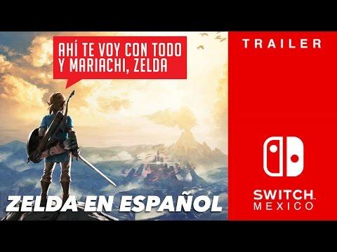 Trailer de The Legend of Zelda: Breath of the Wild en Español latino