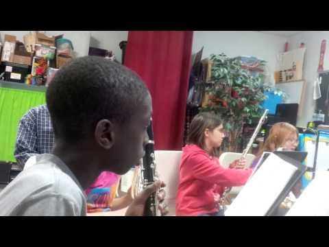 Worthington Christian School Music Class (Grade 5) - 2014