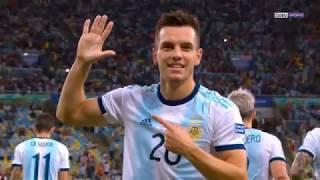 Copa America : L'Argentine s'offre une demi-finale de rêve contre le Brésil