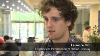 A Spherical Persistence of Vision Display - 3rd year project