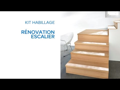 Kit Habillage Rénovation Escalier 694636 Castorama Youtube