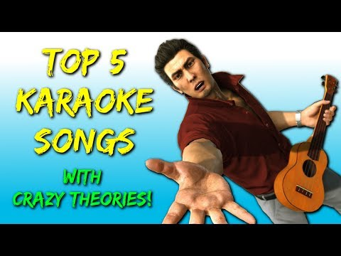 Top 5 Karaoke Songs In The Yakuza Series (5K Sub Special)