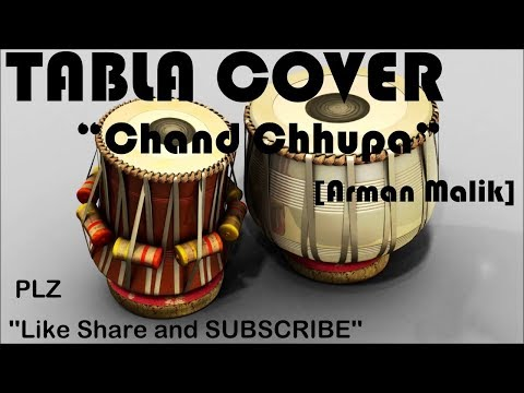 Chand Chhupa Badal Mein (Armaan Malik)|TABLA COVER| ABHISHEK THAKUR