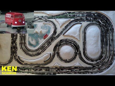 Making-of Slotcar Einspur Driftbahn | Carrera Digital 132 | Evolution | GO!!! | Scalextric | Ninco