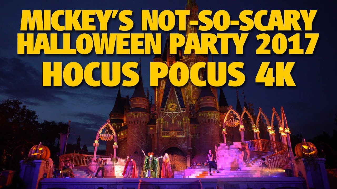hocus pocus villain spelltacular 2017 mickeys not so scary halloween party