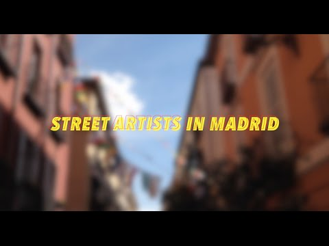 Street Artists In Madrid
