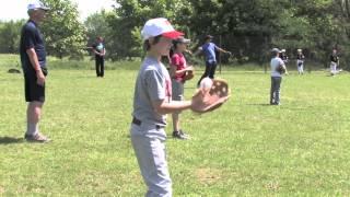 Coaching the Moldovans at Baseball