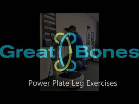 Power Plate Exercises for your Legs