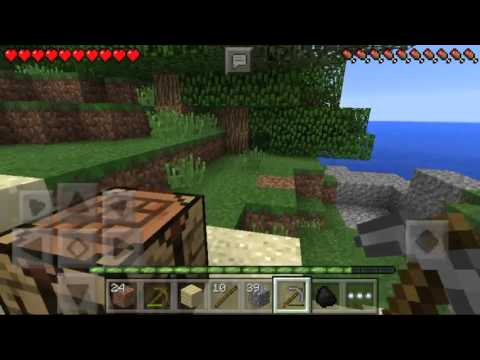 How to get iron ore in Minecraft pe