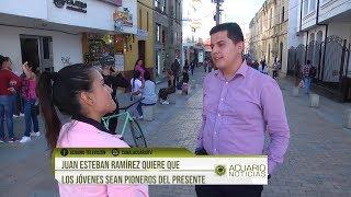 Juan Esteban Ramírez quiere que los jóvenes sean pioneros del presente